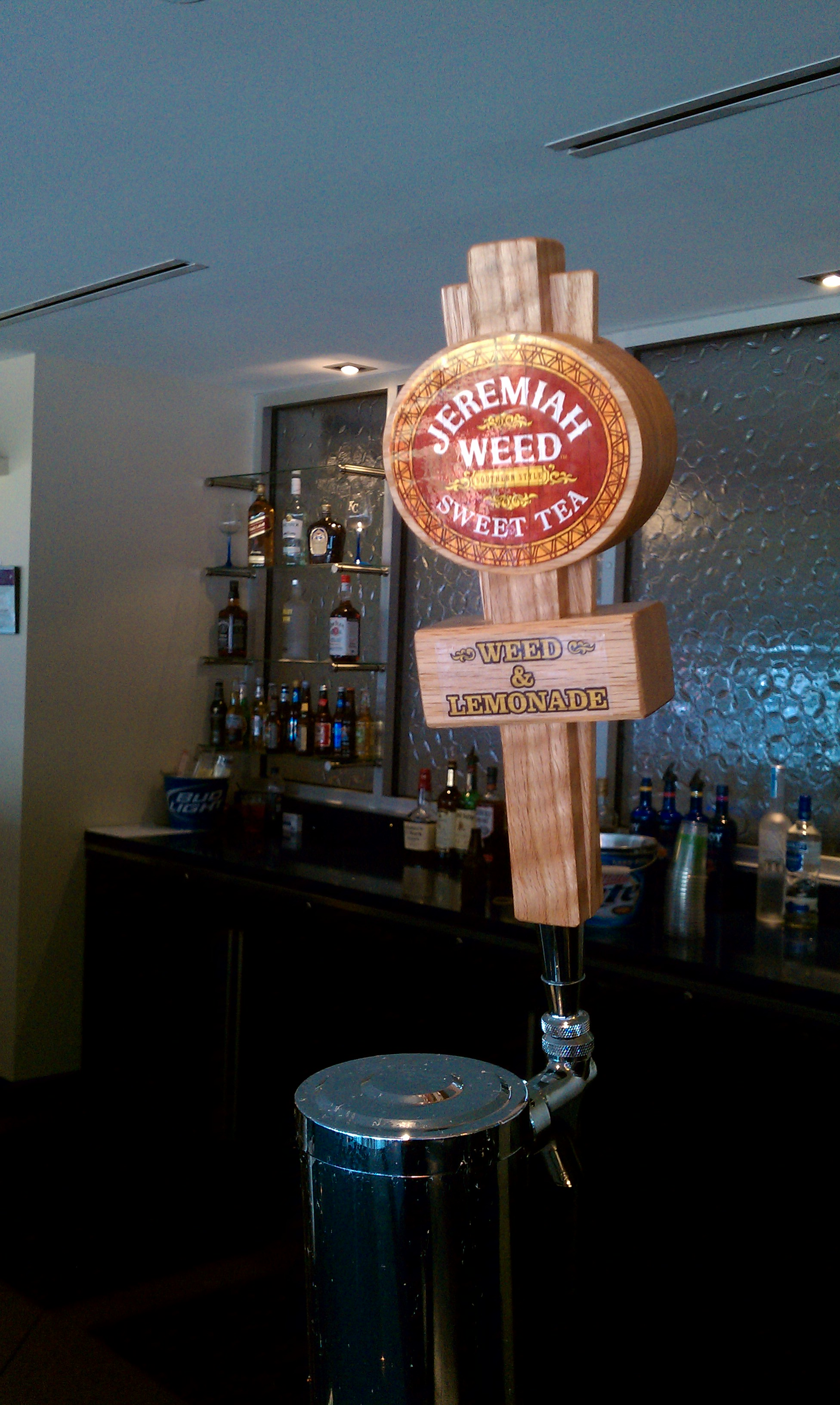 Sweet tea vodka and lemonade - on tap!