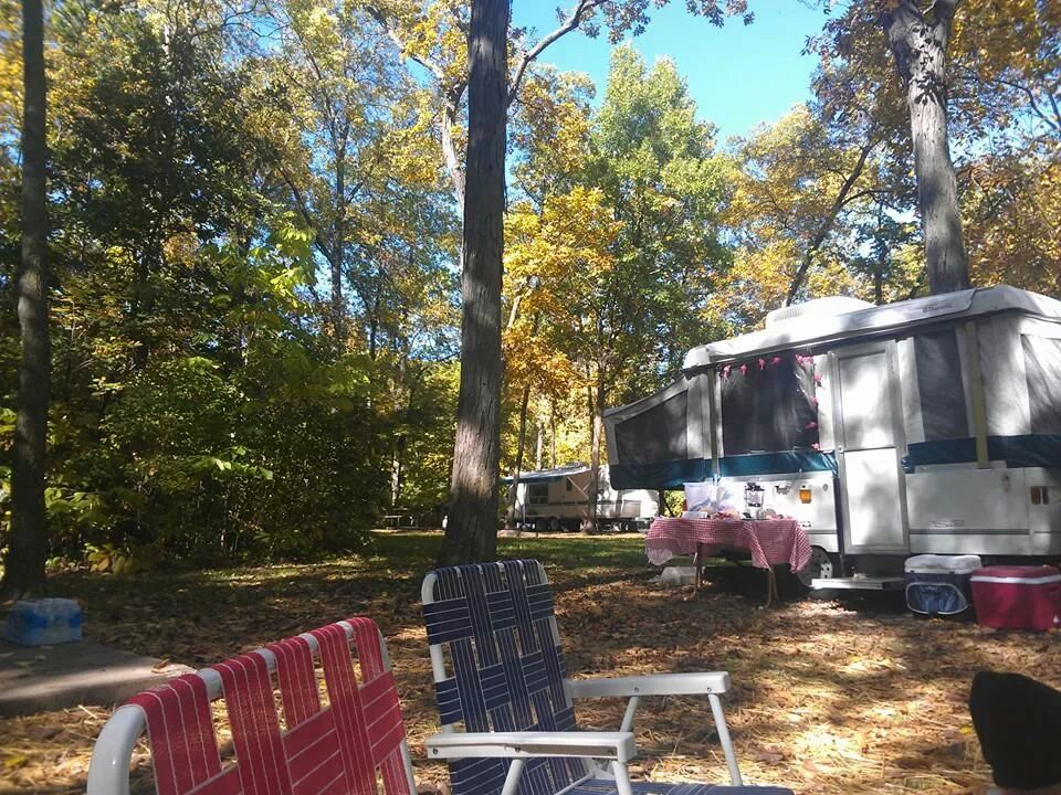 Last camp out of the season at Watkins Mill Sate Park.