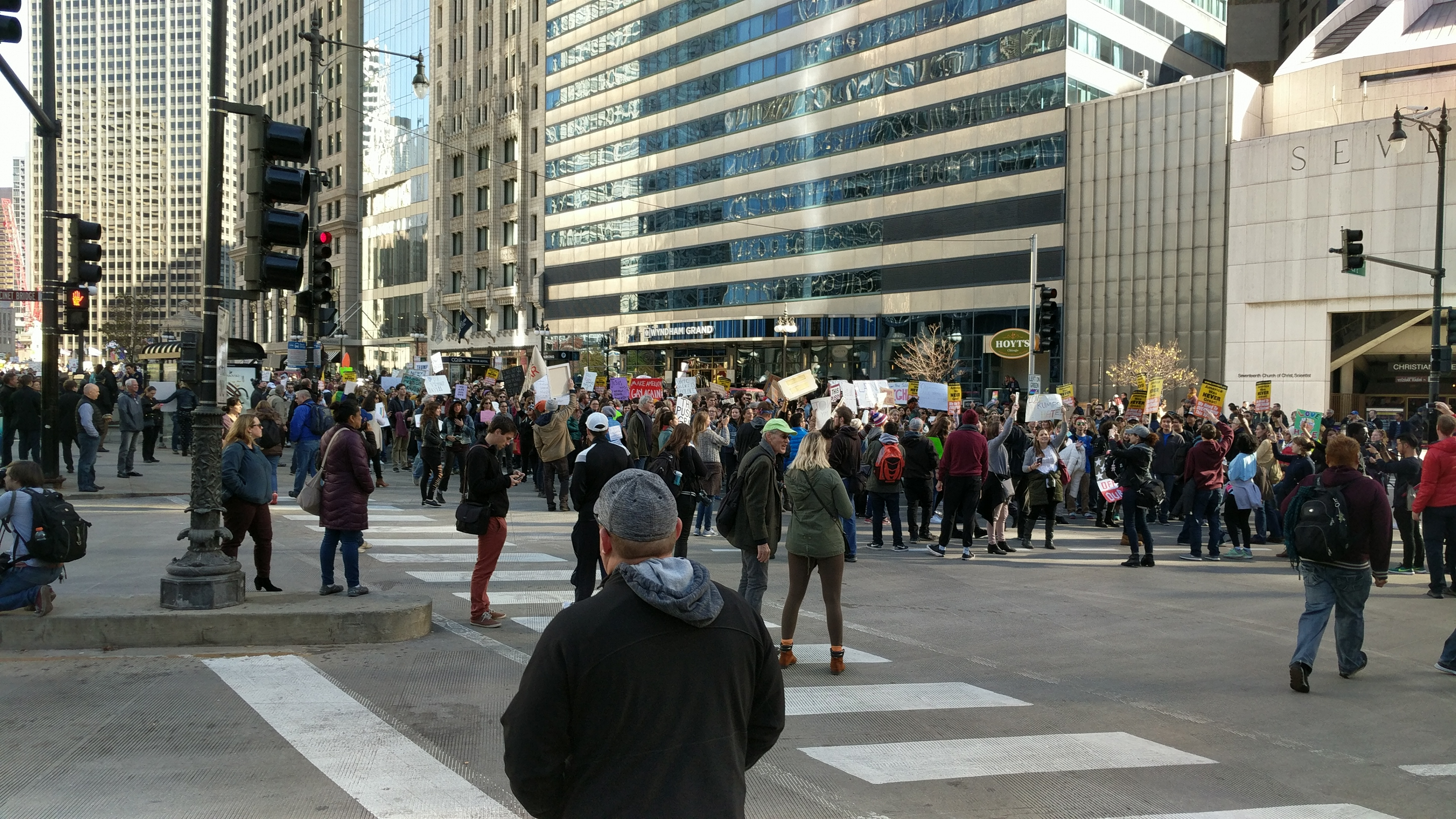 Big day for Trump protests in Chicago