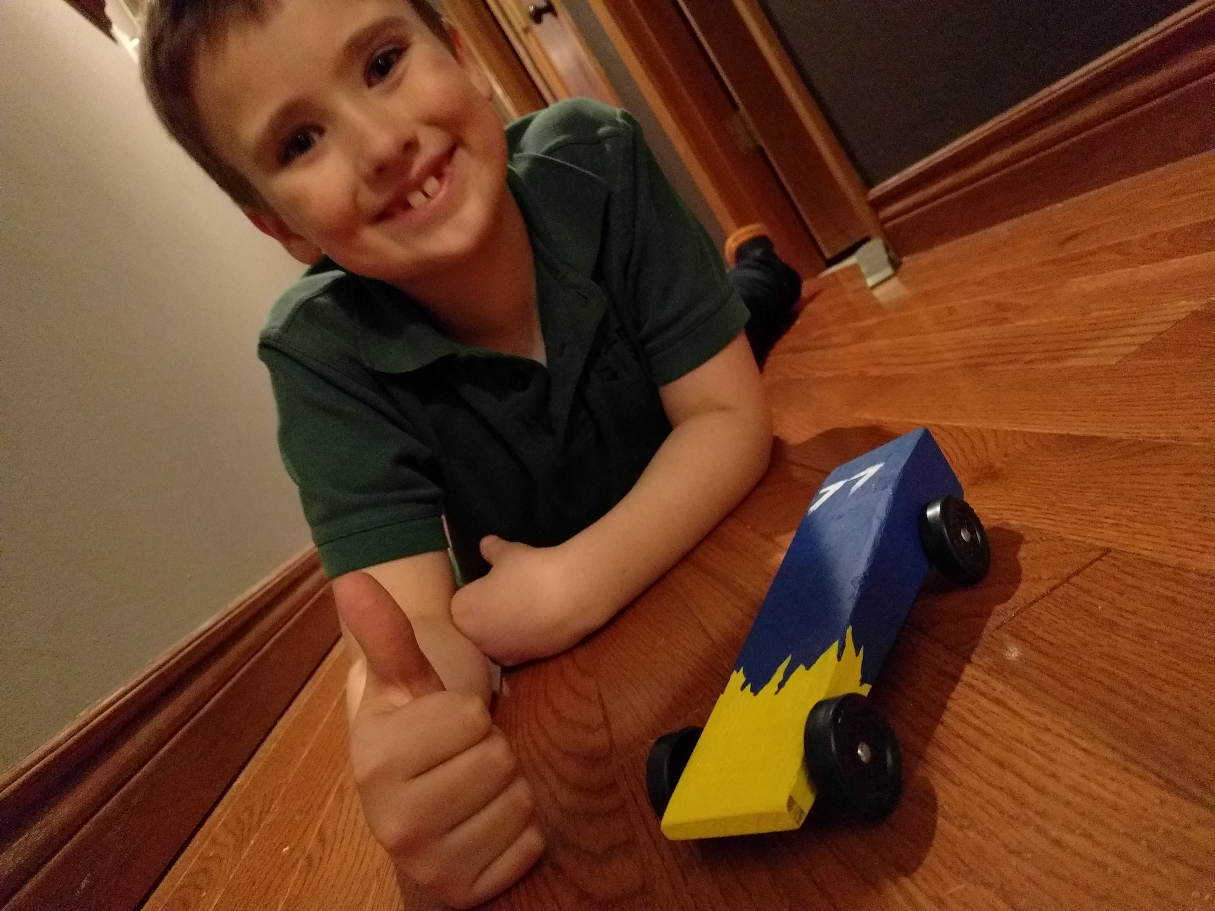 Ready for the Pinewood Derby