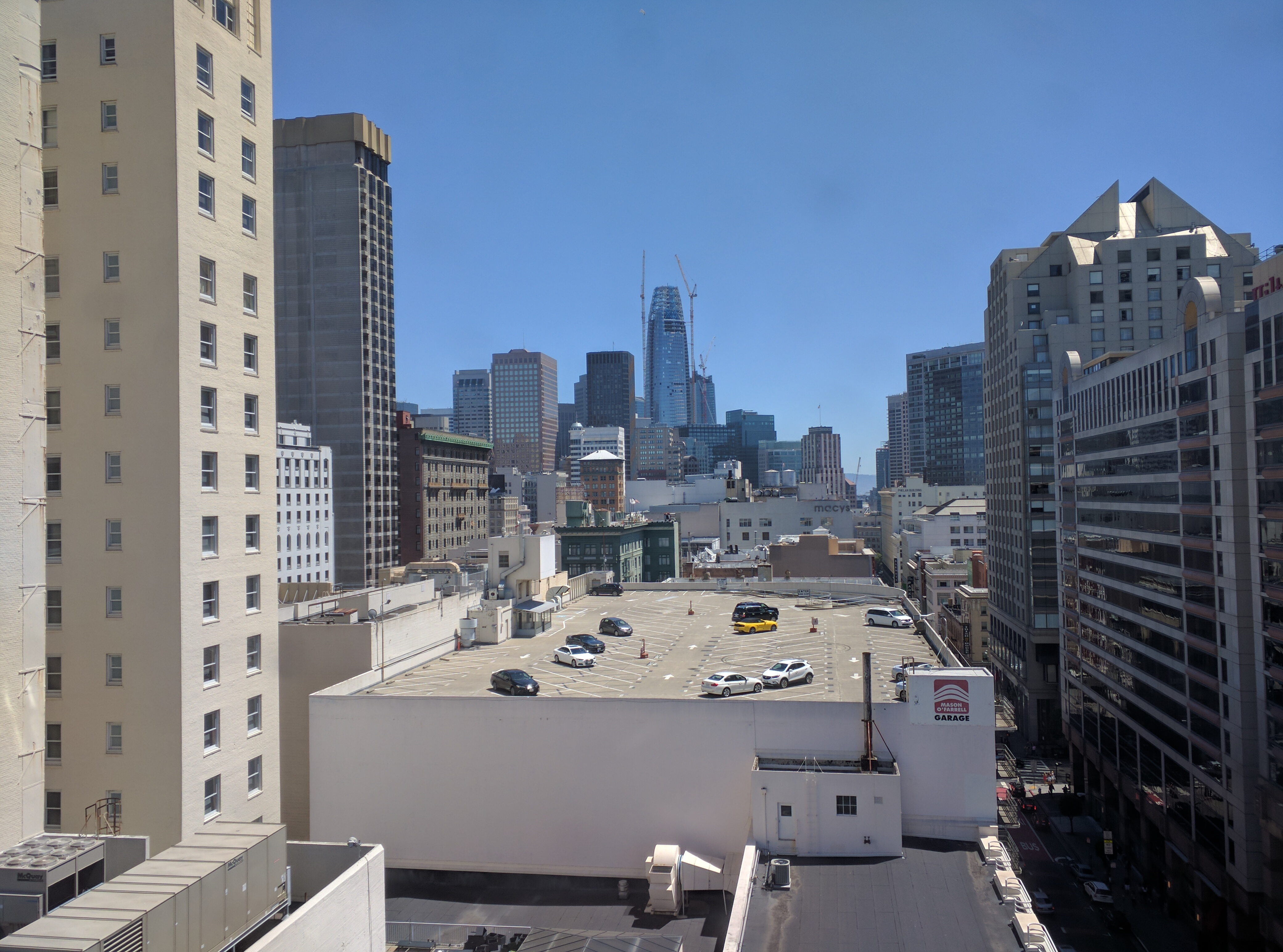 Salesforce building construction