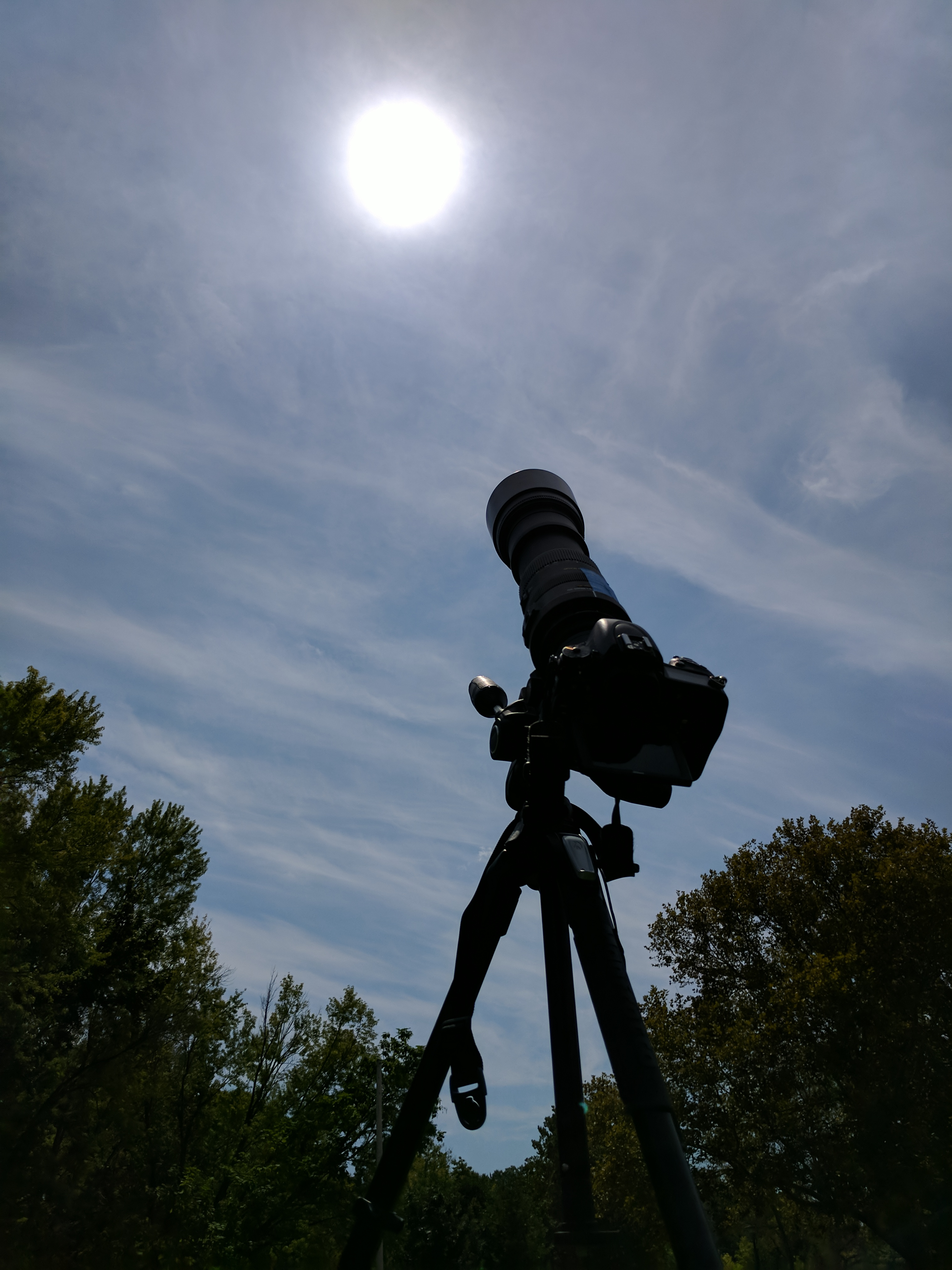 Awaiting totality
